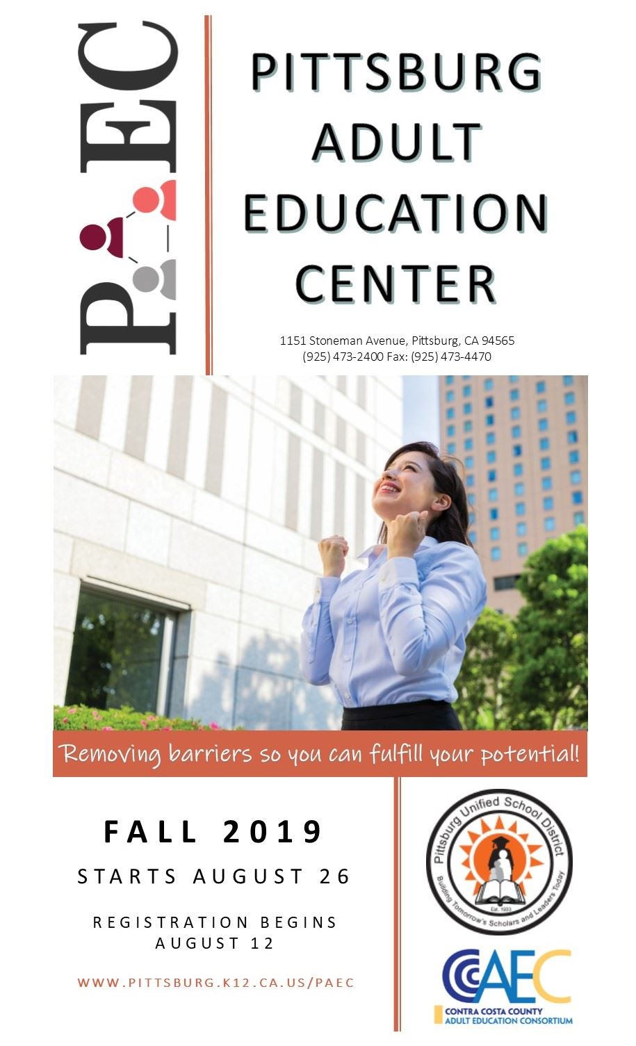 Pittsburg Adult Education Center / Homepage
