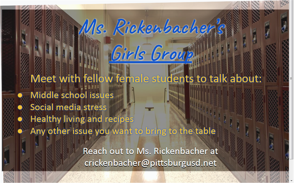 Ms. Rickenbacher's Girls Group