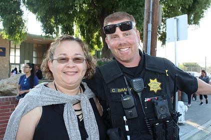 Officer Brady and Ms. Hernandez