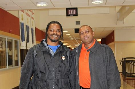 Mr. Naicker with Campus Resource Assistant