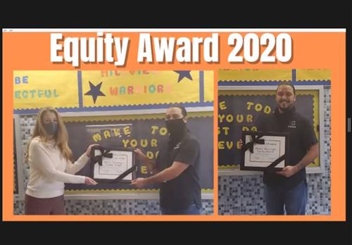 Equity Award 2020 Winner Pedro Mayorga