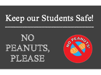 PEANUT ALLERGY SCHOOL SAFETY LETTERS