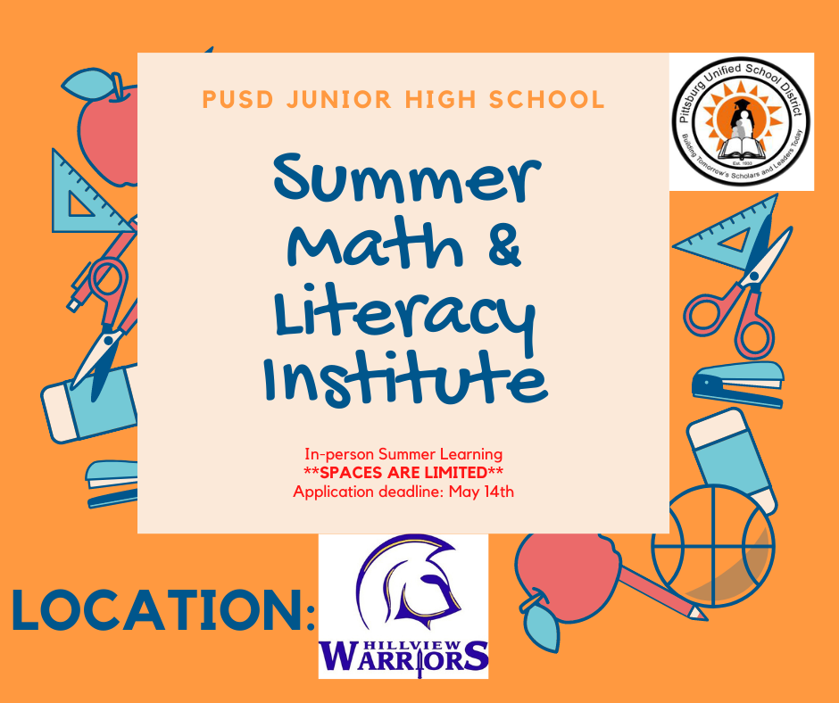 Summer Math & Literacy Institute