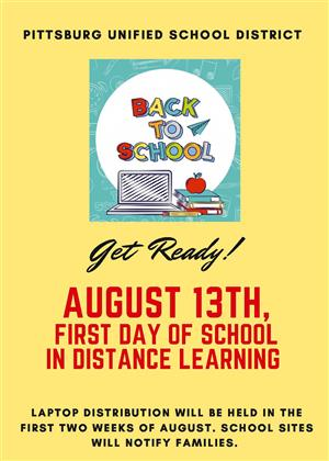 Back to School August 13