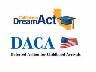 California Dream Act and DACA logos