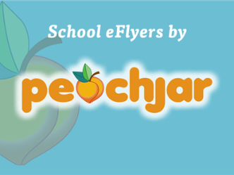 blue peachjar logo