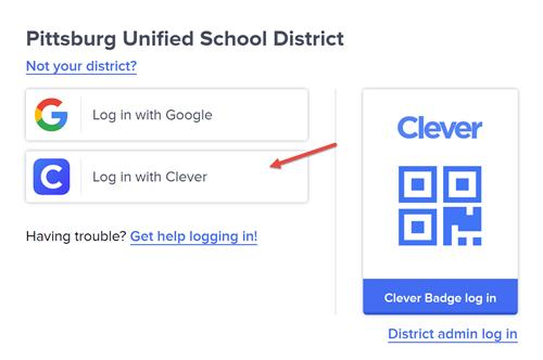 Login for clever