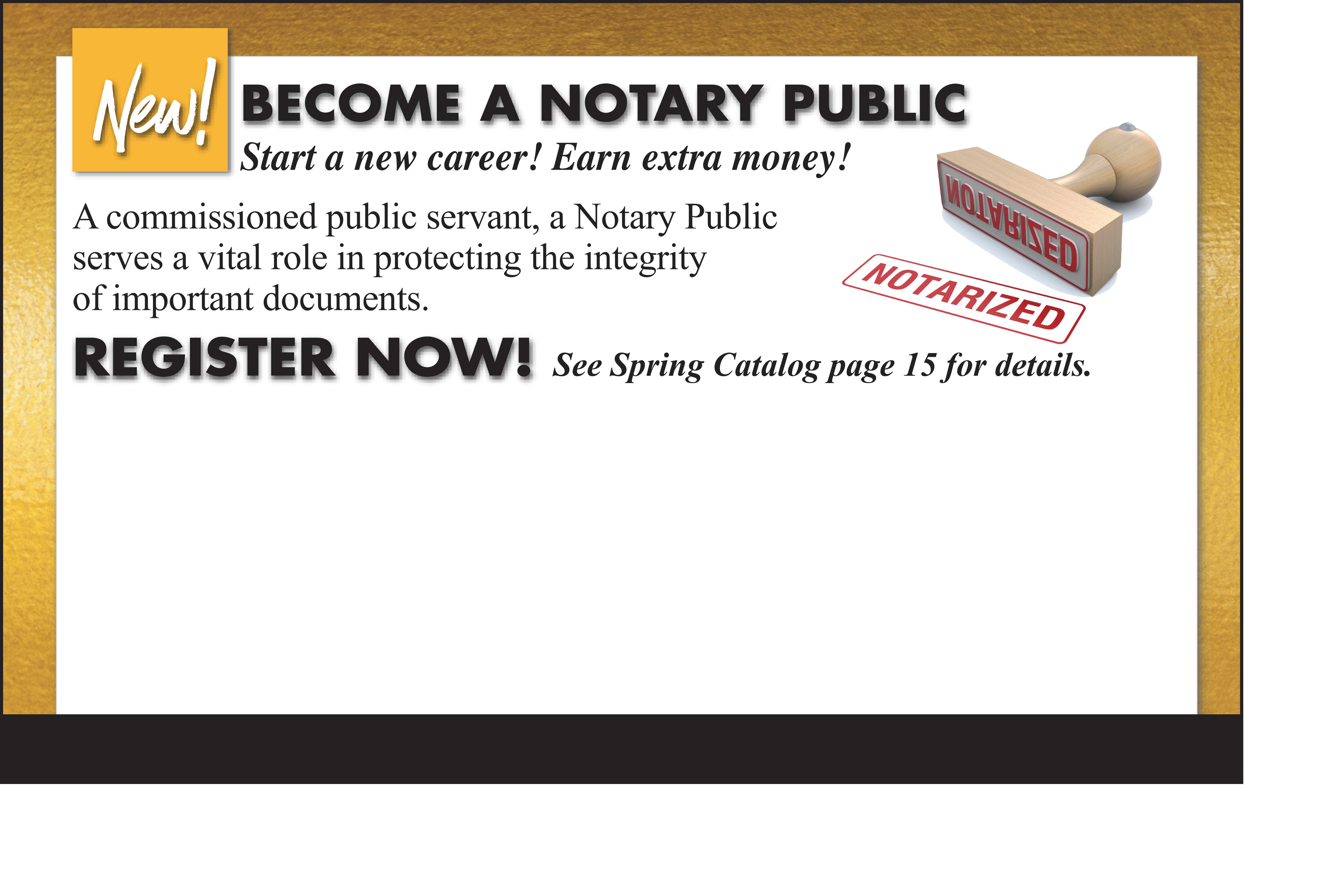 PAEC offers Notary Public Class!
