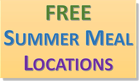 Free Summer Meal Locations